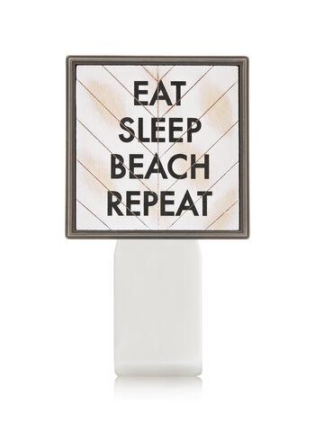 Eat Sleep Beach Repeat Wallflowers Fragrance Plug