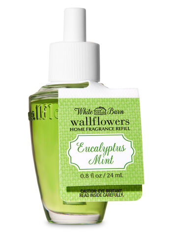 White Barn Eucalyptus Mint Wallflowers Fragrance Refill - Bath And Body Works