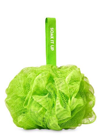 Green Shower Sponge - Bath And Body Works