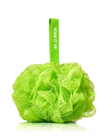 Green Shower Sponge - Bath And Body Works