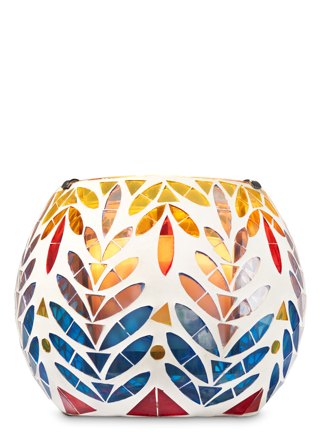 Colorful Mosaic Luminary 3-Wick Candle Holder  sc 1 st  Bath u0026 Body Works & Colorful Mosaic Luminary 3-Wick Candle Holder | Bath u0026 Body Works