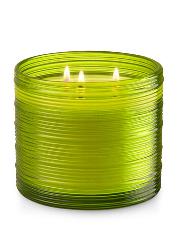 Vanilla Beach Flower 3-Wick Candle - Bath And Body Works