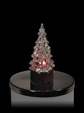 Tree Light-Up 3-Wick Candle Magnet