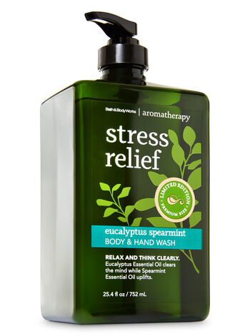 Aromatherapy Eucalyptus Spearmint Limited Edition Body & Hand Wash - Bath And Body Works