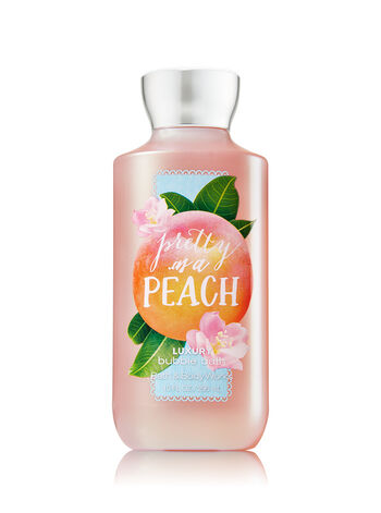 Signature Collection Pretty as a Peach Luxury Bubble Bath - Bath And Body Works