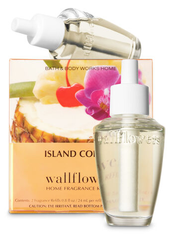Island Colada Wallflowers Refills, 2-Pack - Bath And Body Works