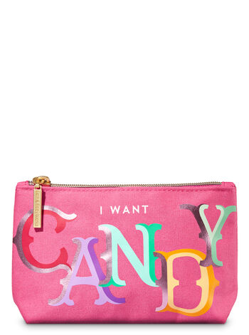 I Want Candy Cosmetic Bag Cosmetic Bag - Bath And Body Works