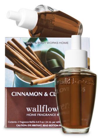 Cinnamon & Clove Buds Wallflowers Refills, 2-Pack - Bath And Body Works