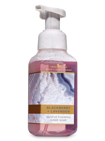 Blackberry & Lavender Gentle Foaming Hand Soap - Bath And Body Works