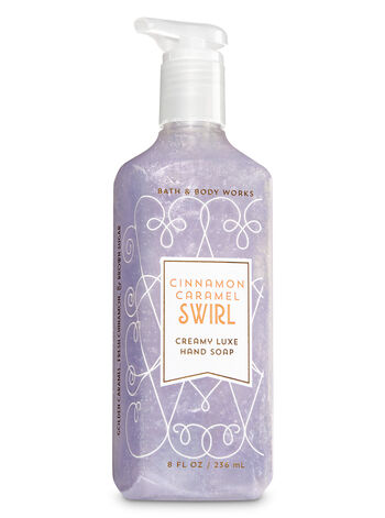 Cinnamon Caramel Swirl Creamy Luxe Hand Soap - Bath And Body Works