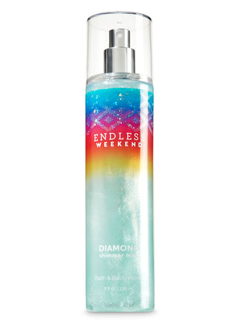 Signature Collection Endless Weekend Diamond Shimmer Mist - Bath And Body Works
