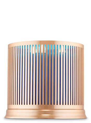 Mod Stripes 3-Wick Candle Holder