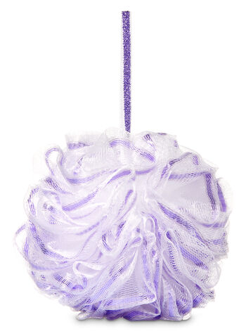 Shiny Purple Shower Sponge - Bath And Body Works