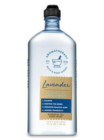 Lavender Essential Oil Body Wash - Bath And Body Works