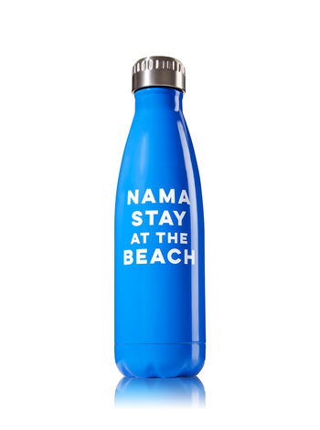 Nama Stay At The Beach Metal Water Bottle - Bath And Body Works