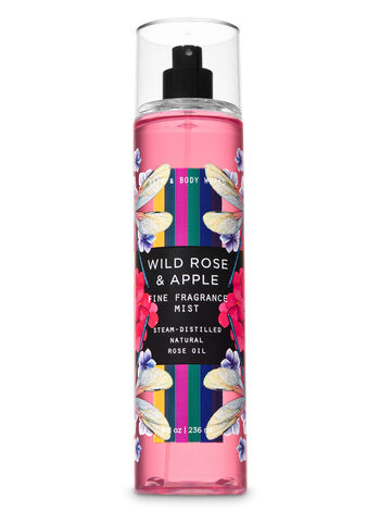 Wild Rose & Apple Fine Fragrance Mist - Bath And Body Works