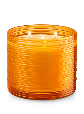 Pineapple Palm Grass 3-Wick Candle - Bath And Body Works