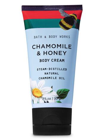Chamomile & Honey Travel Size Body Cream - Bath And Body Works