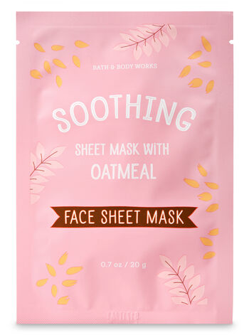 Soothing with Oatmeal Face Sheet Mask