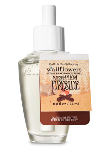 Marshmallow Fireside Wallflowers Fragrance Refill - Bath And Body Works