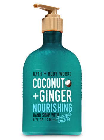 Coconut & Ginger Hand Soap With Avocado Butter - Bath And Body Works