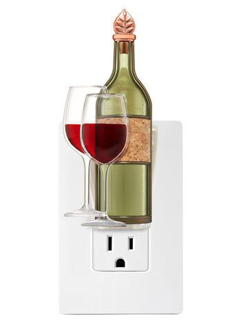 Wine Glasses with Bottle Nightlight Wallflowers Fragrance Plug