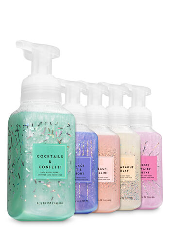 Sparkling Celebration Shimmer Luxe Hand Soap, 5-Pack - Bath And Body Works