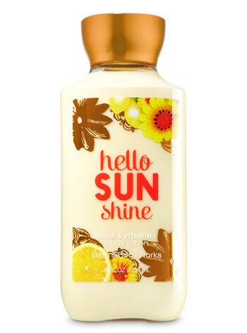 Signature Collection Hello Sunshine Body Lotion - Bath And Body Works