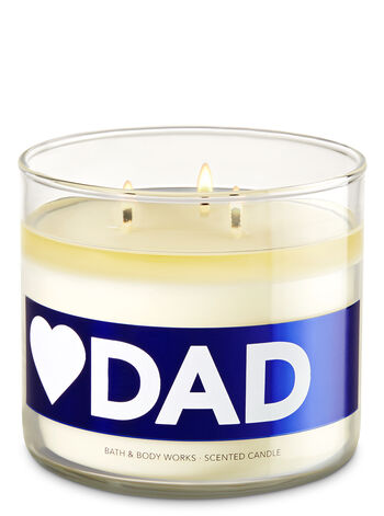 Love Dad - Mahogany Teakwood 3-Wick Candle - Bath And Body Works