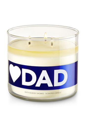 Love Dad - Mahogany Teakwood 3-Wick Candle - Bath And Body Works