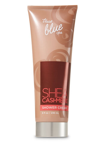 True Blue Spa Shea Cashmere Shower Cream - Bath And Body Works