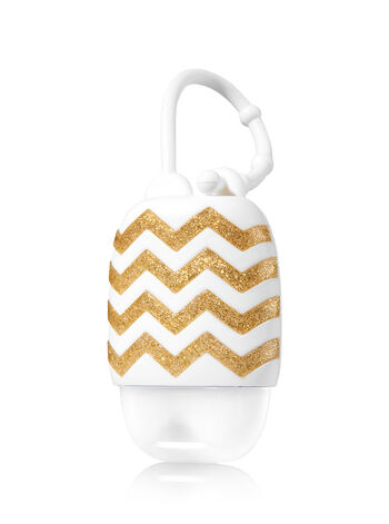 White with Chevrons PocketBac Holder - Bath And Body Works