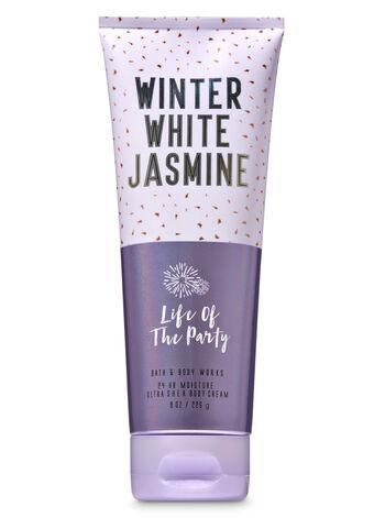 Winter White Jasmine Ultra Shea Body Cream - Bath And Body Works