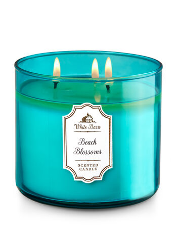 Beach Blossoms 3-Wick Candle - Bath And Body Works