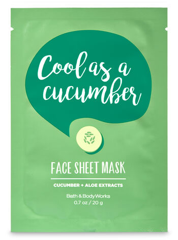 Cool as a Cucumber Face Sheet Mask