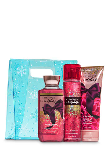 A Thousand Wishes Snowflakes Bag Gift Set