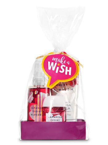 Japanese Cherry Blossom Make a Wish Gift Set