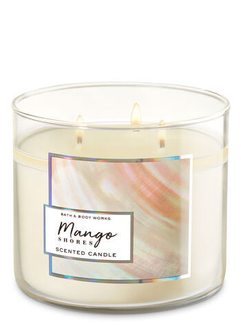 Mango Shores 3-Wick Candle - Bath And Body Works