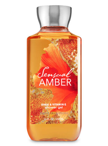Signature Collection Sensual Amber Shower Gel - Bath And Body Works