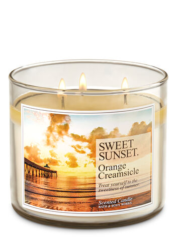 Orange Creamsicle 3-Wick Candle - Bath And Body Works