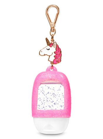 Pink Unicorn Charm PocketBac Holder - Bath And Body Works