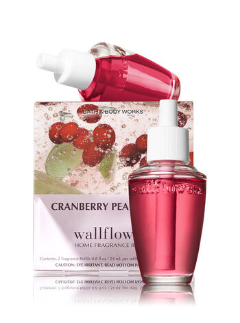 Cranberry Pear Bellini Wallflowers Refills, 2-Pack - Bath And Body Works