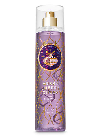 Signature Collection Merry Cherry Cheer Fine Fragrance Mist - Bath And Body Works