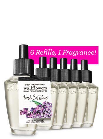 Fresh Cut Lilacs 6-Pack Wallflowers Sampler