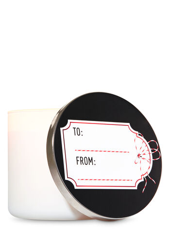 To and From Label Candle Lid Magnet - Bath And Body Works