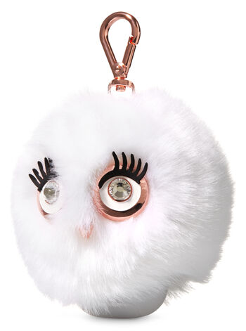 White Fluffy Owl PocketBac Holder - Bath And Body Works