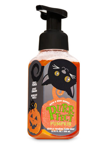Purrfect Pumpkin Gentle Foaming Hand Soap - Bath And Body Works