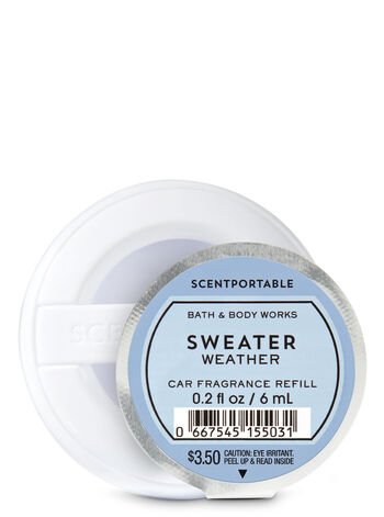Sweater Weather Scentportable Fragrance Refill - Bath And Body Works