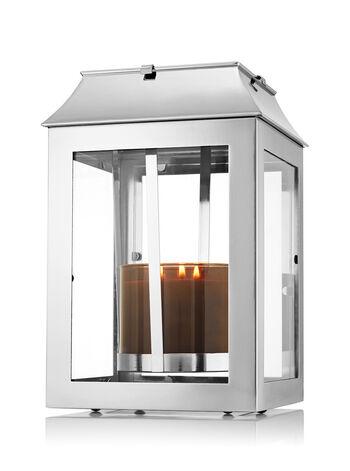 Large Lantern Luminary 3-Wick Candle Sleeve