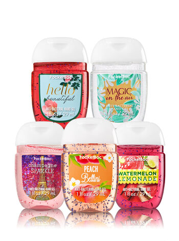 Most-Loved Favorites 5-Pack PocketBac Sanitizers - Bath And Body Works